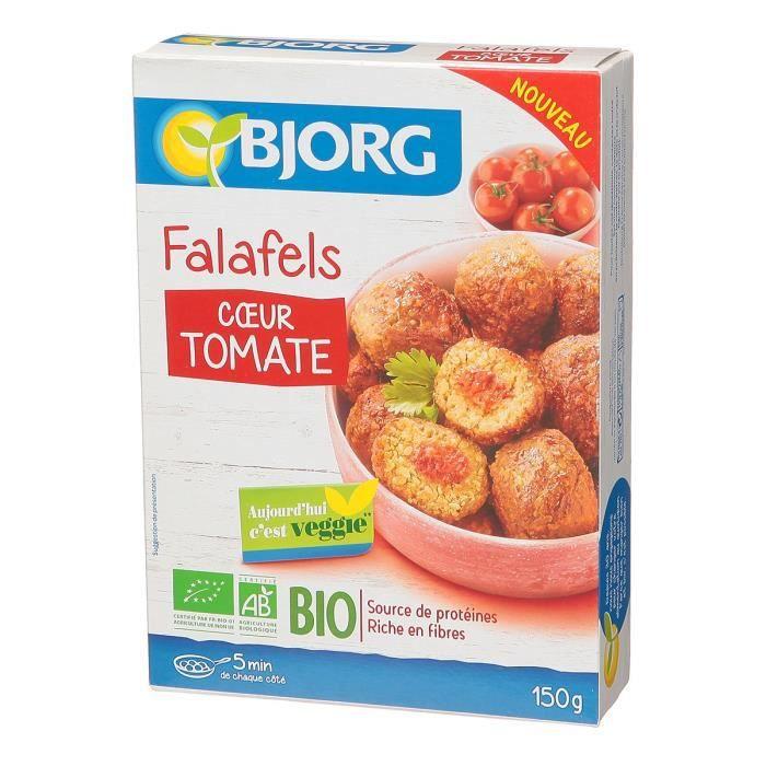 BJORG Falafels coeur tomate - 150 g