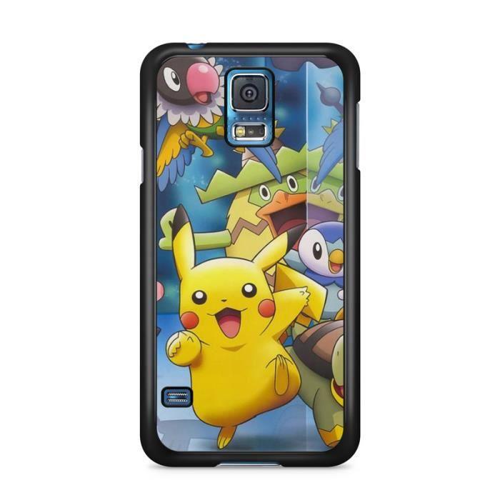 COQUE - BUMPER Coque Samsung Galaxy S5   Pokemon go team pokedex
