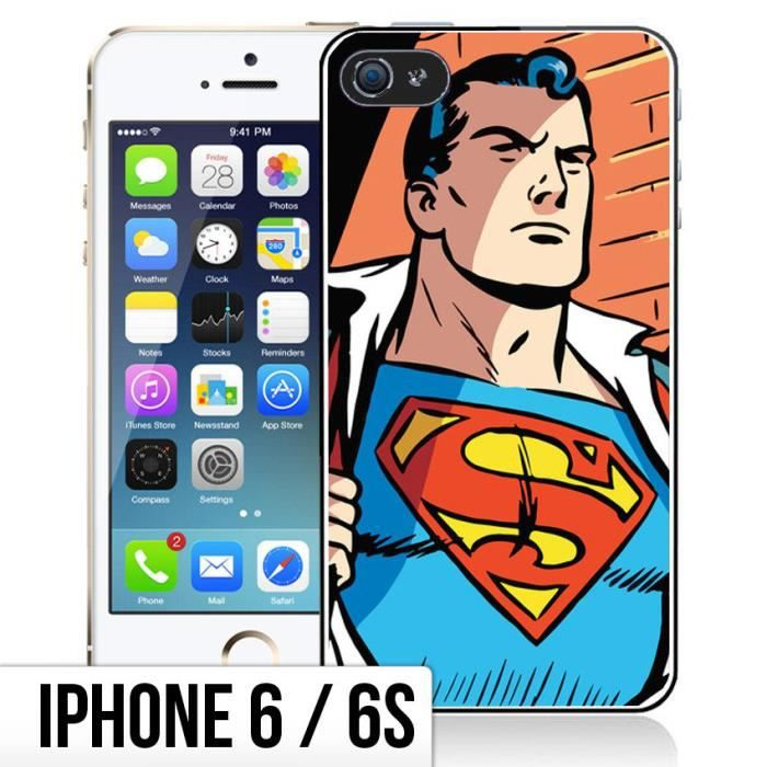 coque iphone 6 superman