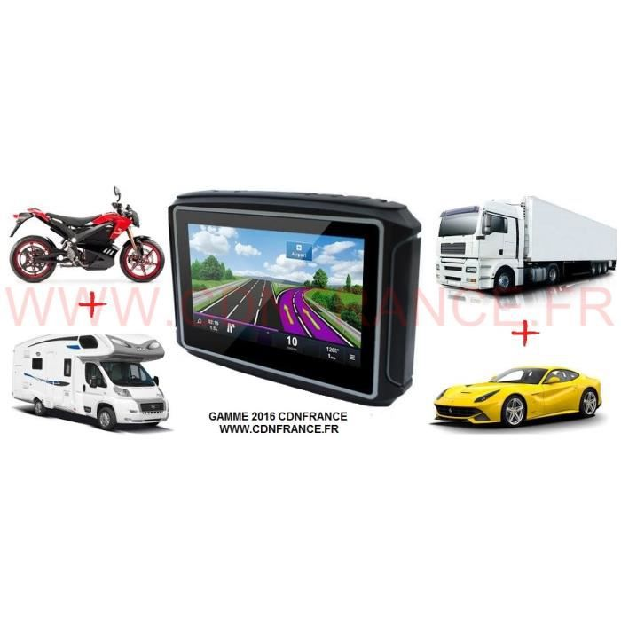 gps 4en1 moto camping car camion voiture 2016 achat vente pack gps auto gps 4en1 moto. Black Bedroom Furniture Sets. Home Design Ideas