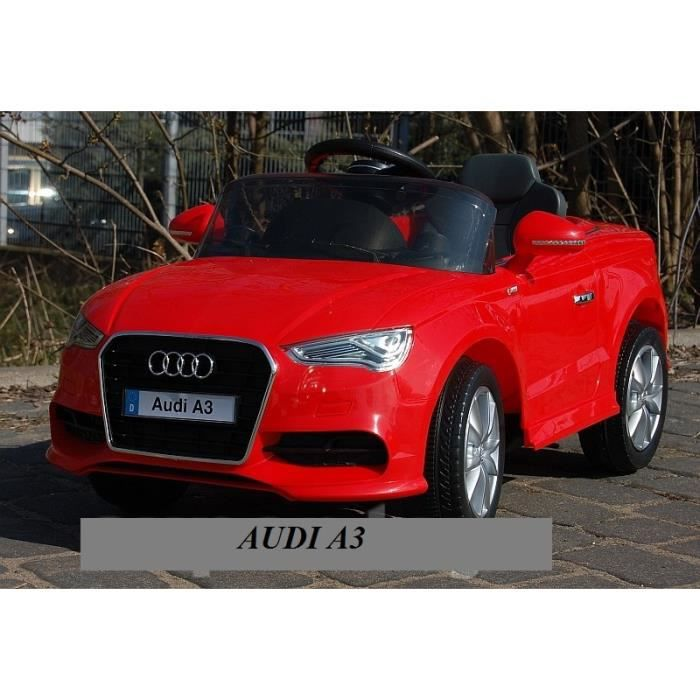 voiture educatif lectrique audi a3 enfant t l commande 12v achat vente voiture enfant. Black Bedroom Furniture Sets. Home Design Ideas