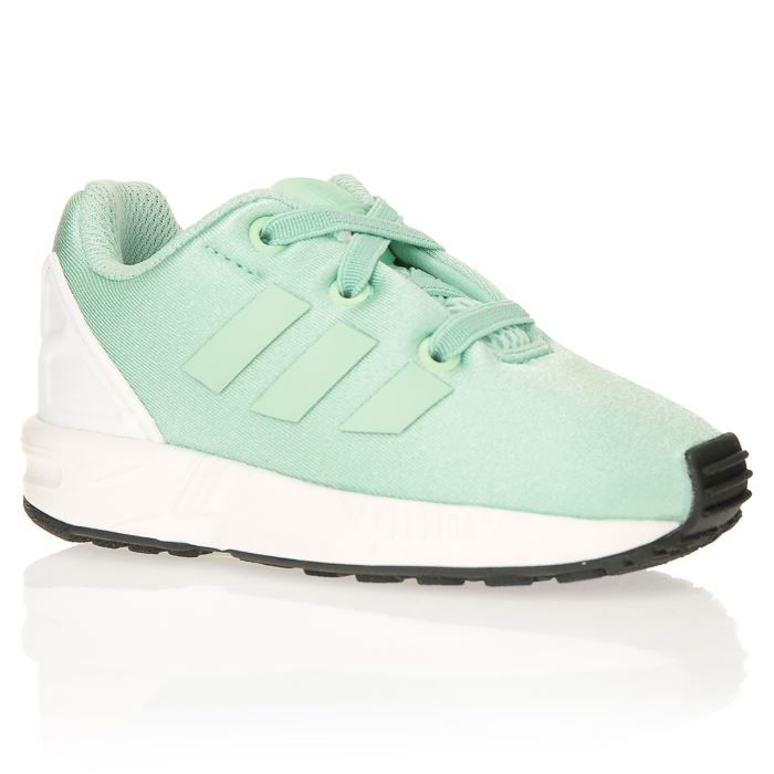 adidas originals baskets zx flux b b gar on vert clair achat vente basket cdiscount. Black Bedroom Furniture Sets. Home Design Ideas