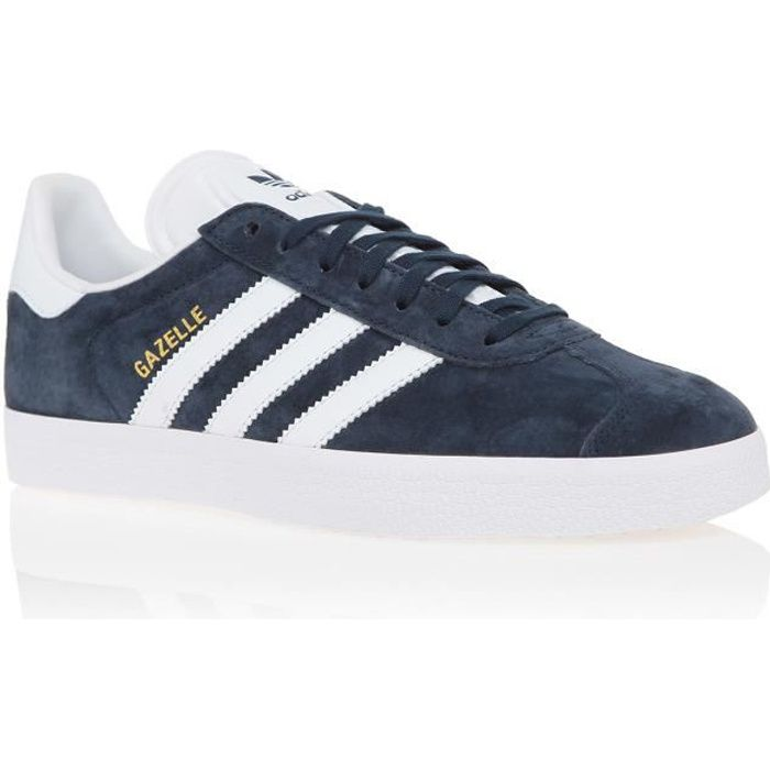 ADIDAS ORIGINALS Baskets GAZELLE Femme Bleu MarineBlanc