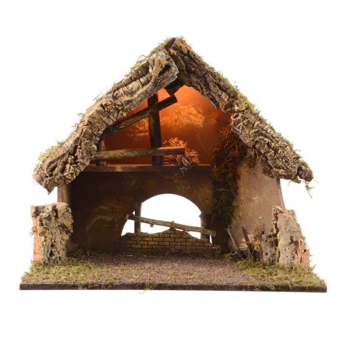 Crèche de Noël lumineuse vide Sainte Irène   Achat / Vente Crèche