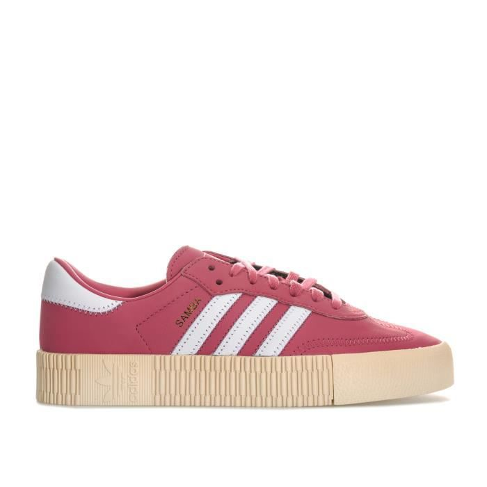 the best affordable price best cheap adidas Originals Baskets Sambarose Rose Femme