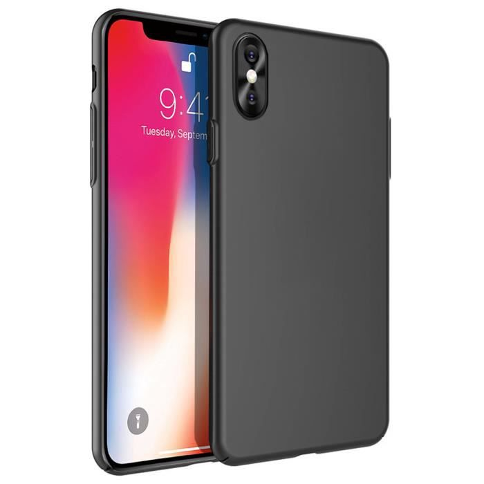 coque rigide ultra fine iphone x