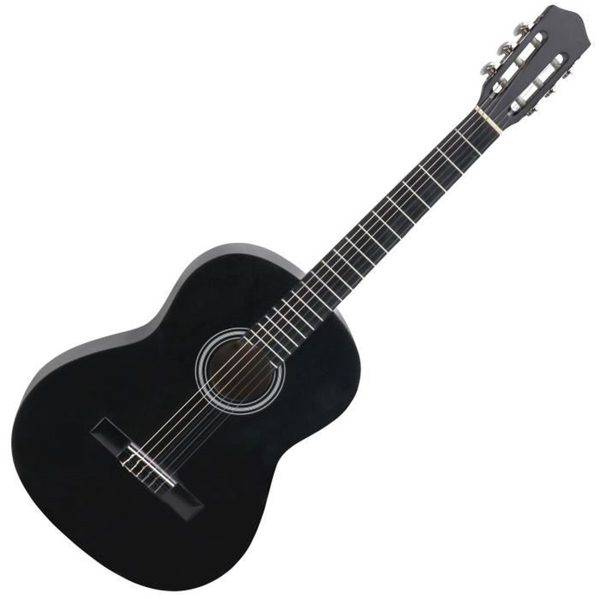 GUITARE Calida Benita CB34BK Guitare Classique 3/4 noir
