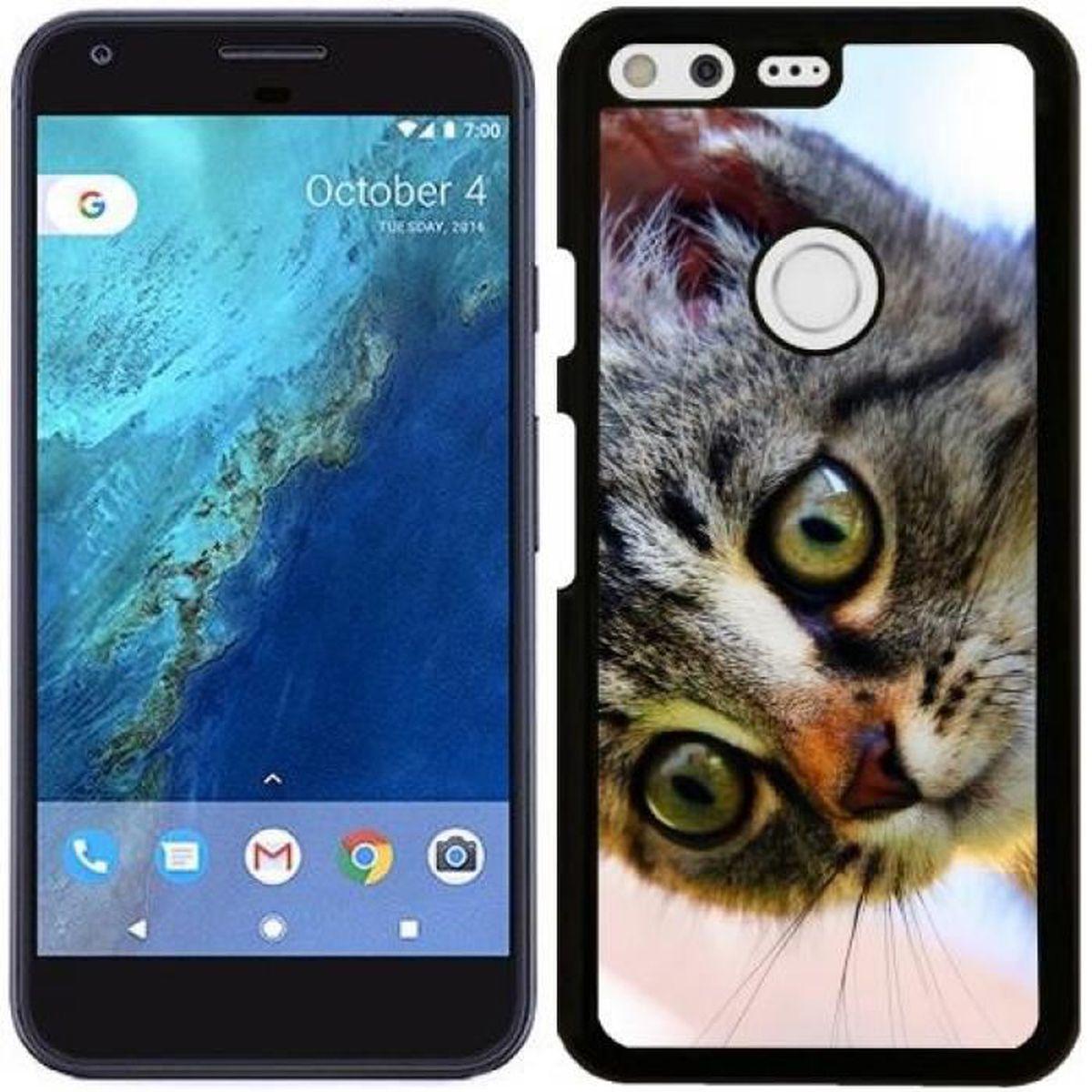Coque Pour Google Pixel Chaton Mignon Baie De Chat Vjn
