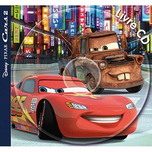 Livre 3-6 ANS Cars 2
