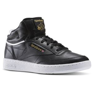 REEBOK Baskets Club C 85 Mid Cuir Chaussures Homme