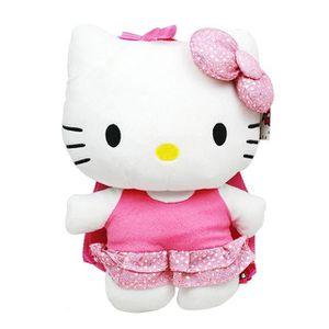ACCROCHE-SAC Bonjour Kitty Sequin peluche Sac à dos # 68387 1MJ