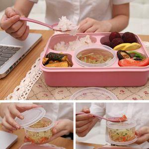 LUNCH BOX - BENTO  Cinq Plus One Boîte à lunch avec une cuillère Boît