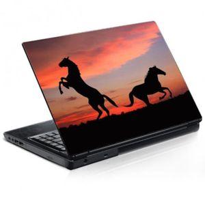 PC 15.6  H25xL36 cm Stickers Autocollants ordinateur portable PC D/éco Mangas dark r/éf 181