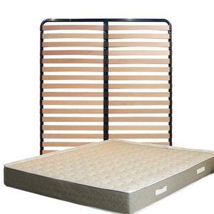 MATELAS Matelas 140x190 x 23 cm + Sommier + pieds Offerts