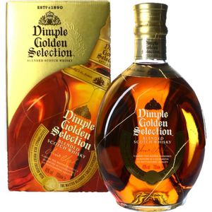 WHISKY BOURBON SCOTCH Spiritueux - Dimple Golden Selection Scotch Whisky