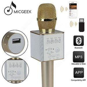 HAUT-PARLEUR - MICRO AOr MicGeek Q9 Microphone Sans fil KTV Support USB
