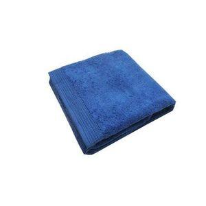 Emonye Serviette de bain pour la plage Bleu Blanc Large Rayures Carr/é Serviette pour la maison//h/ôtel//cuisine//spa//salon//salle de gym et visage 12,9 x 12,9 pouces