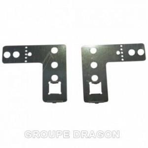 Étriers de fixation lave-vaisselle Original Bosch siemens 00170664