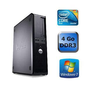UNITÉ CENTRALE  DELL OPTIPLEX 780 - 4Go - Windows 7 64 bits