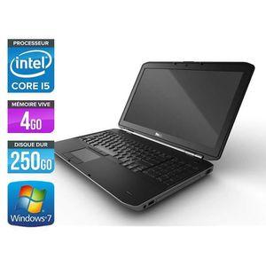 PC RECONDITIONNÉ DELL Latitude E5520 - Intel Core i5 2520M  2.5GHz
