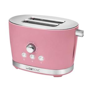 GRILLE-PAIN - TOASTER Grille-pain Clatronic Toaster TA 3690 - Rose U