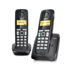 Téléphone fixe Téléphone sans fil Gigaset DECT A220 DUO