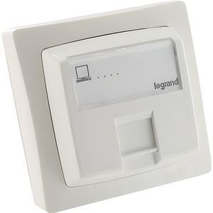 connecteur rj45 legrand achat vente connecteur rj45 legrand pas cher cdiscount. Black Bedroom Furniture Sets. Home Design Ideas