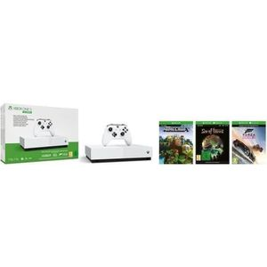 CONSOLE XBOX ONE Xbox One S All Digital 1 To + 3 Jeux dématérialisé