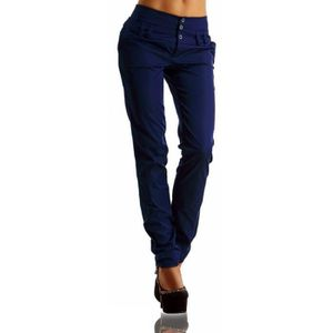 PANTALON ZANZEA Pantalon Crayon Femmes Taille Haute