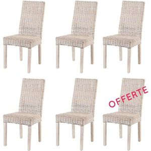 CHAISE Lot 6 Chaises Zicavo - Kubu