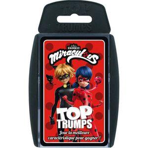CARTES DE JEU TOP TRUMPS - Miraculous - Jeu de cartes - Version