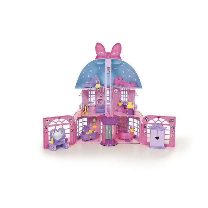 Imc - 182592 - Poupée - Maison De Minnie - Disney, Rose XPPAO