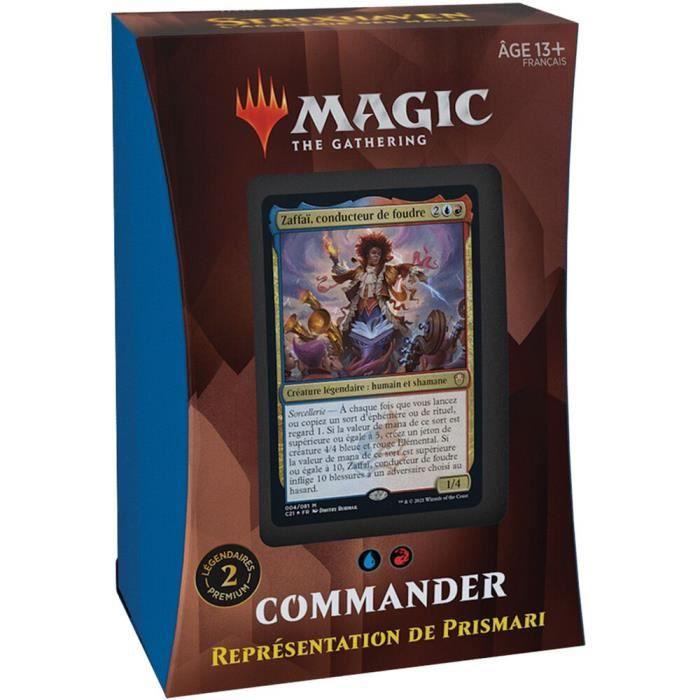 Deck - Magic The Gathering - Strixhaven : l'académie des mages : Prismari (bleu-rouge)