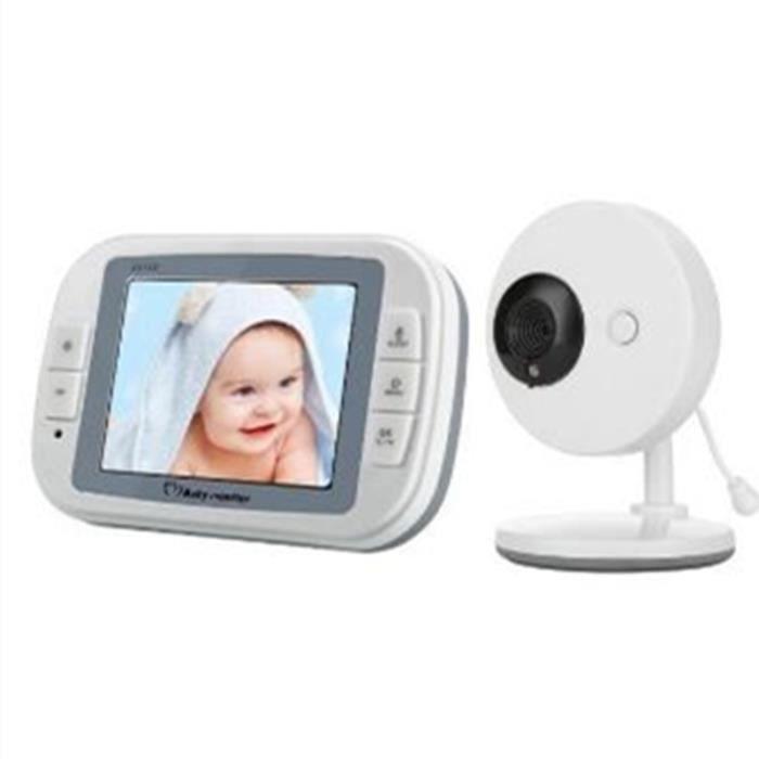 BABY PHONE - ECOUTE BEBE,Interphone sans fil 4.3 pouces Affichage de température, moniteur de bébé numérique - Type 3.5inch