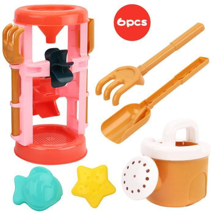 Jeu de sable de plage jouet jeu de sable jouet de bac à sable jouets de plein air d'été pour garçons et filles 104