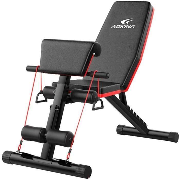 BANC DE MUSCULATION TOPYL Aptitude &eacutequipement De Aptitude Banc D'entra&icircnement Flat Fly Weight Press Fitness Multi215
