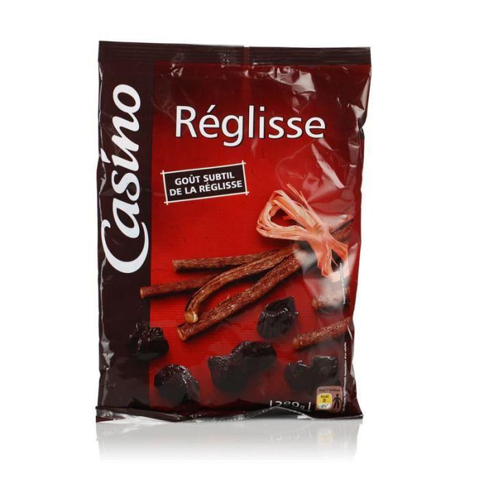 CASINO Bonbons Reglisse - 290 g