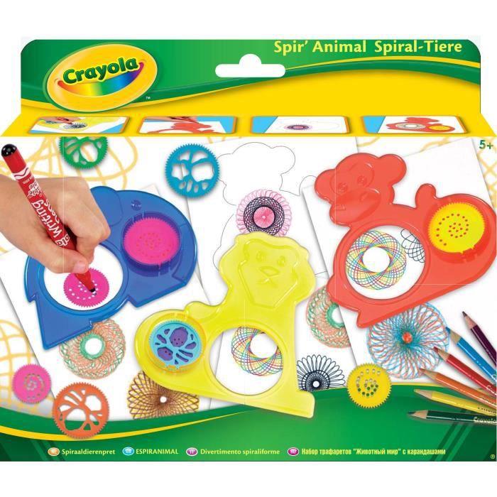 Crayola - Spiranimal - Activités pour les enfants
