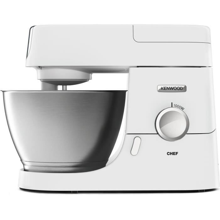 KENWOOD KVC3173W - Machine à cuisine Chef - 1000 W - Bol 4,6L