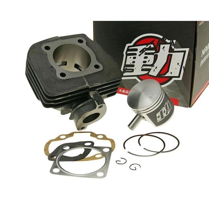 Kit cylindre 70cc NARAKU pour TGB 101S 50cc, Akros, Tec, Bullet, Delivery, F409, Hook, Laser, Meteorit, R50X