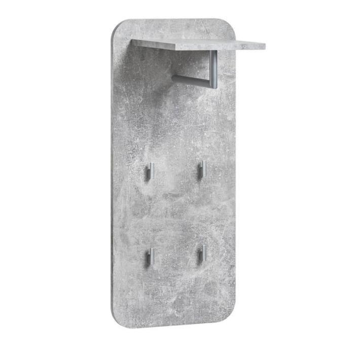 étagère & Penderie Design 'wally- 80cm Argent - Paris Prix