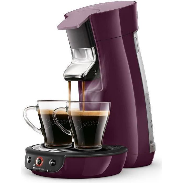 PHILIPS HD6563/91 SENSEO Viva - Machine à café à dosettes - Lilas intense