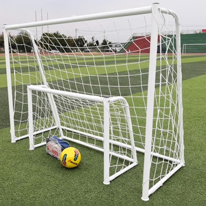 1pc Poteau De But de Soccer Net Standard Football Sport Formation pour L'extérieur CAGE DE FOOT - BUT DE FOOTBALL