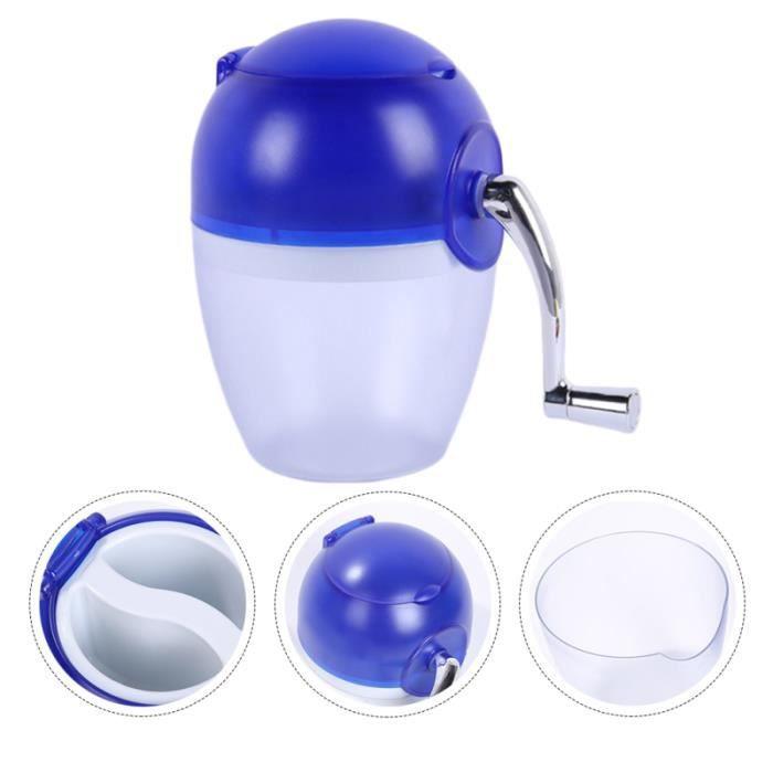 1PC été manuel durable broyeur à glace rasoir à pour dortoir à la maison de l'école MACHINE A GLACONS