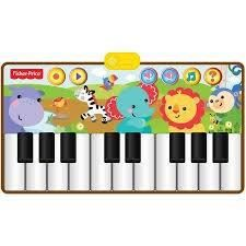 FISHER PRICE Piano musical Forêt Tropicale