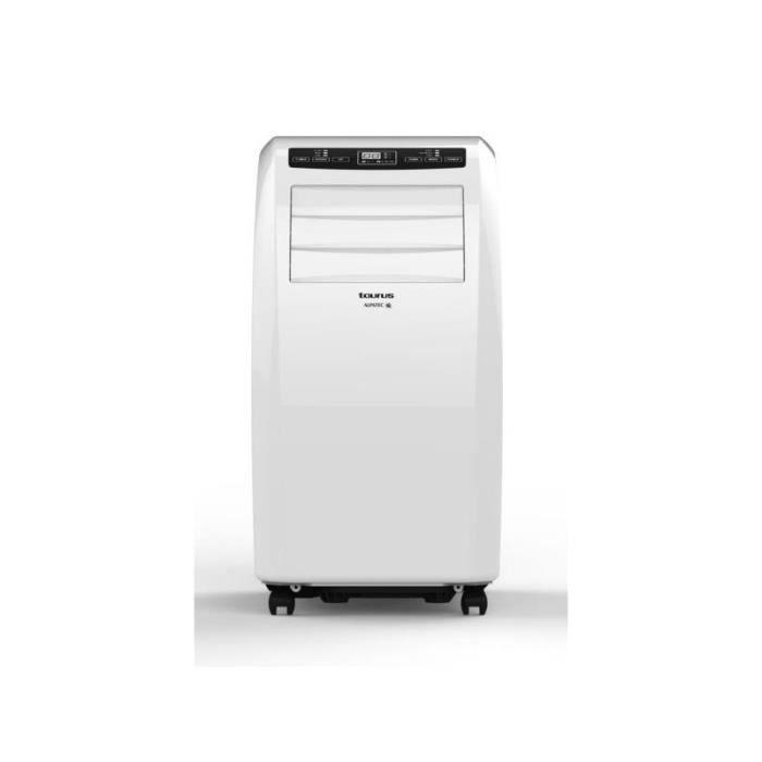 TAURUS Climatiseur mobile monobloc 2900W Déshumidificateur pour surface 30m2 46 Blanc