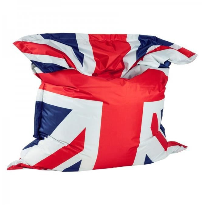 pouf g ant union jack drapeau anglais 168cm achat. Black Bedroom Furniture Sets. Home Design Ideas