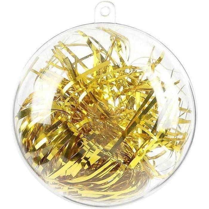 haute qualité bon prix 6 peint à la main Verre Babioles Décorations pour arbres de Noël