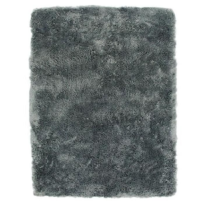 tapis sauvage 160x230cm gris fonc achat vente tapis. Black Bedroom Furniture Sets. Home Design Ideas