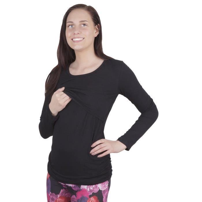 T-SHIRT 3075A - T-shirt d'allaitement et de grossesse 2...